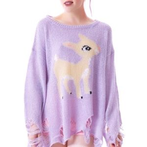 Wildfox White Label Bambi Sweater